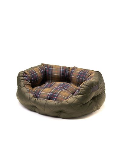Barbour Quilted Dog Bed 18in