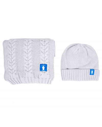 Barbour x The Snowman Aire Knitted Beanie & Scarf Gift Set