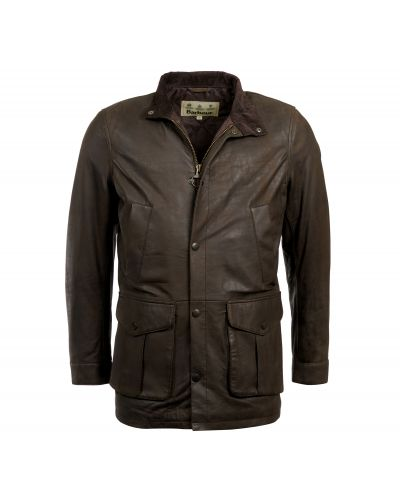 Barbour Thomas Leather Jacket