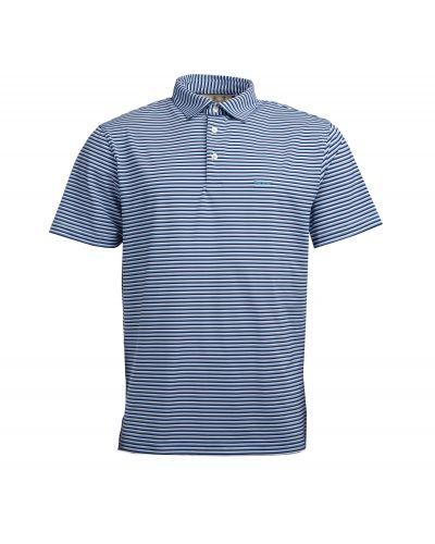 Barbour Performance Stripe Polo Shirt