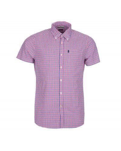 Barbour Seersucker 1 Short Sleeved Tailored Fit Shirt
