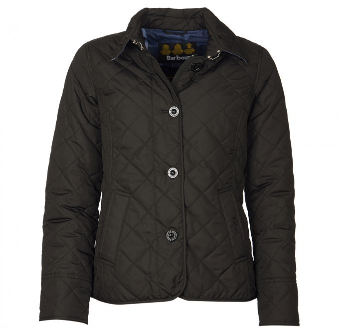 barbour auburn quilted jacket