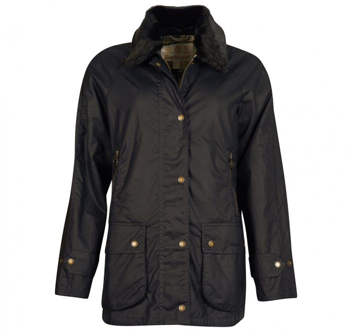Barbour Coneflower Waxed Cotton Jacket