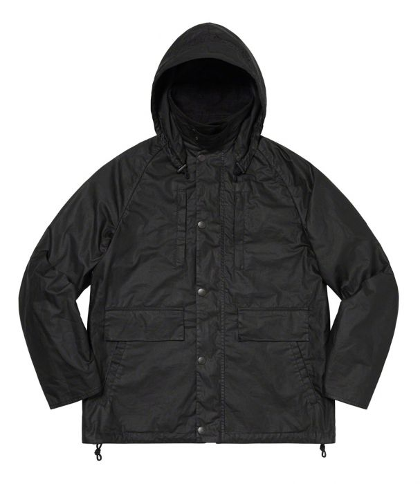 Barbour x Supreme Lightweight Waxed Cotton Field Jacket