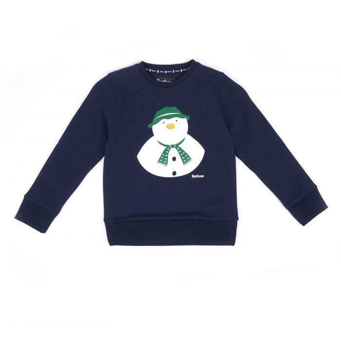 Barbour x The Snowman Howard Sweatshirt
