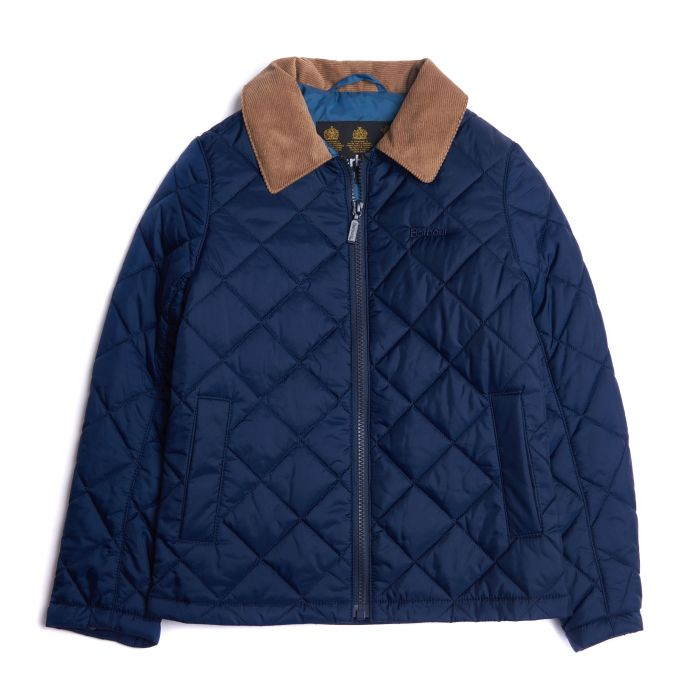 Barbour Boys Helm Quilted Jacket