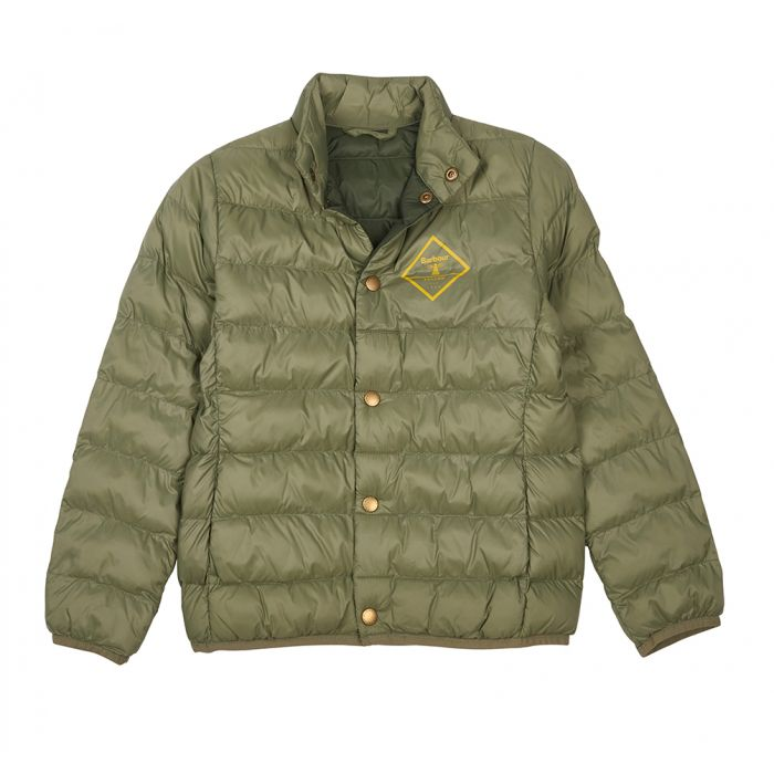 Barbour Boys Sergeant Quilted Jacket