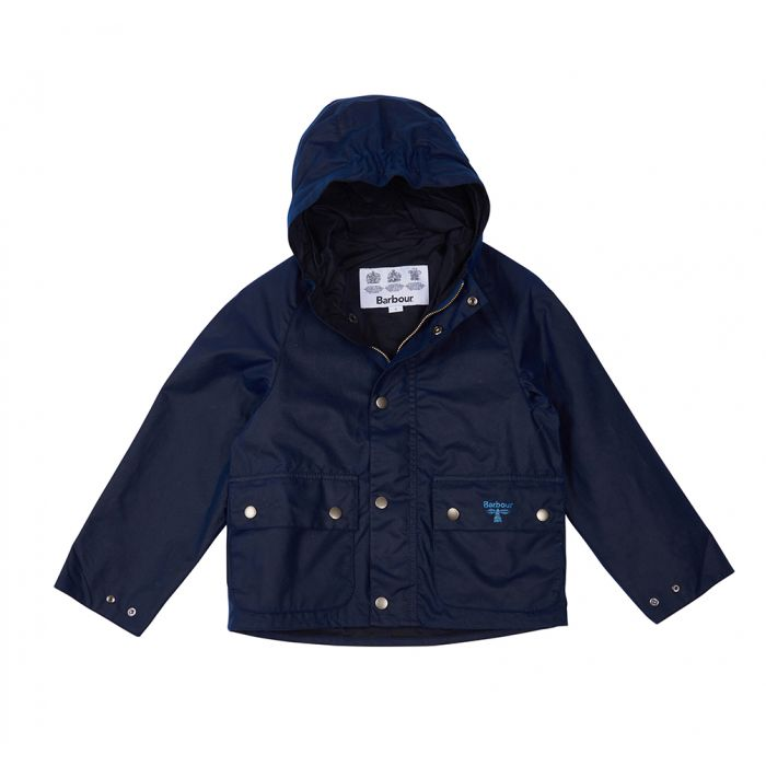 Barbour Boys Pass Waxed Jacket