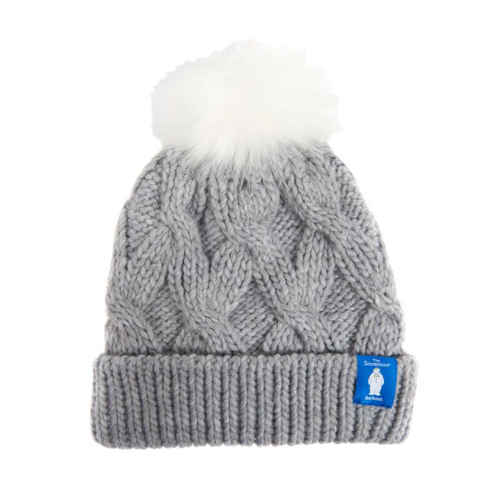 Barbour x The Snowman Elise Knitted Beanie Hat