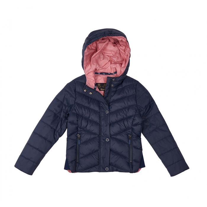 55858898f Barbour Girls Isobath Quilted Jacket Barbour Girls Isobath Quilted Jacket