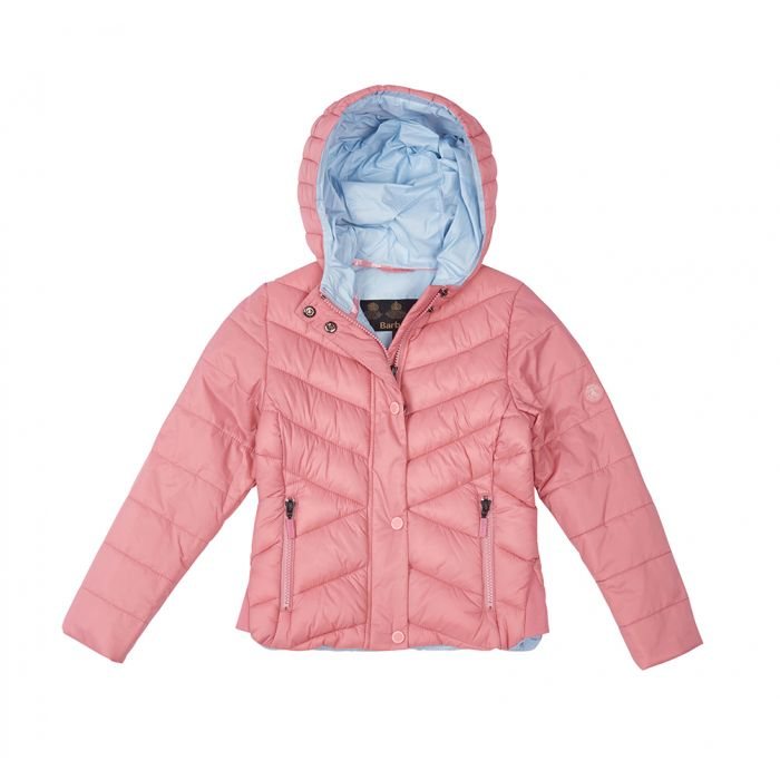 Barbour Girls Isobath Quilted Jacket