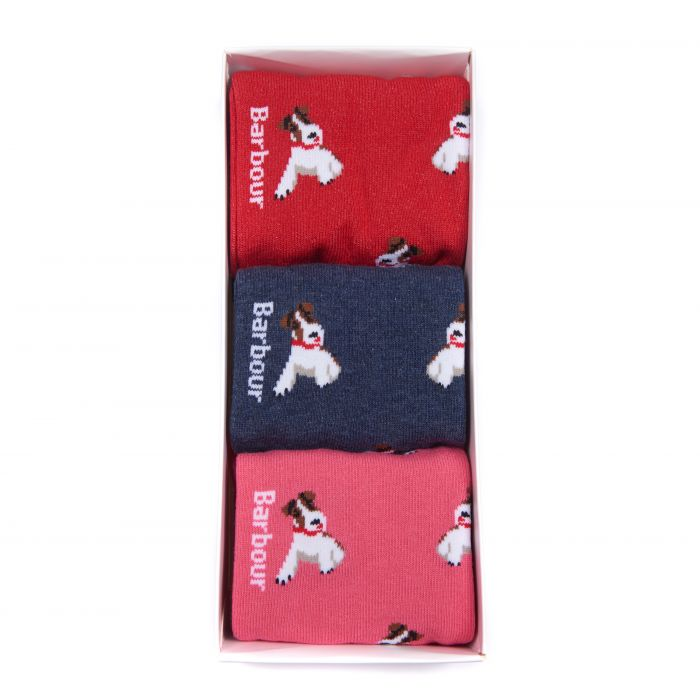 Barbour Terrier Sock Gift Set