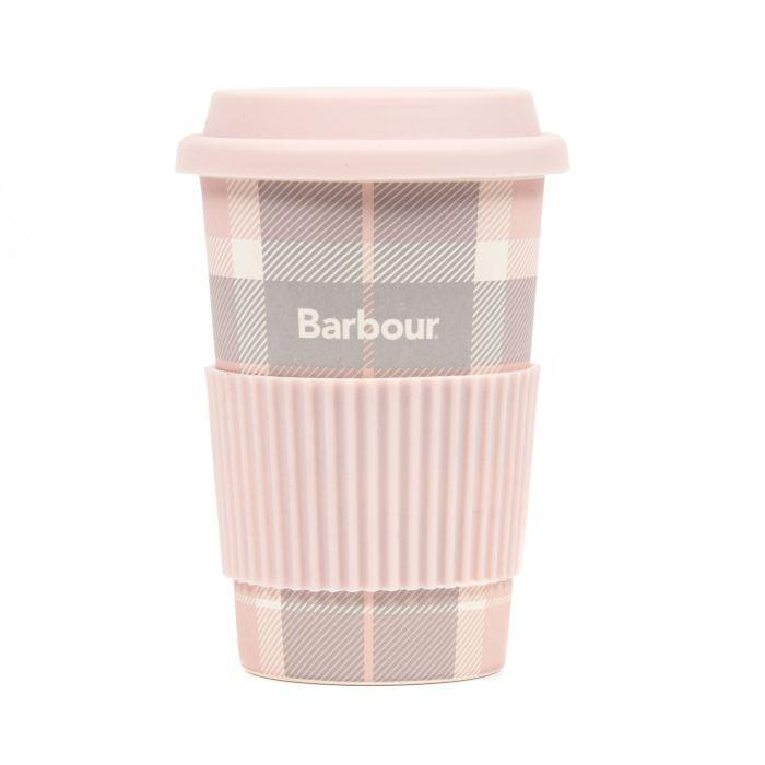 Barbour Tartan Travel Mug Gift box