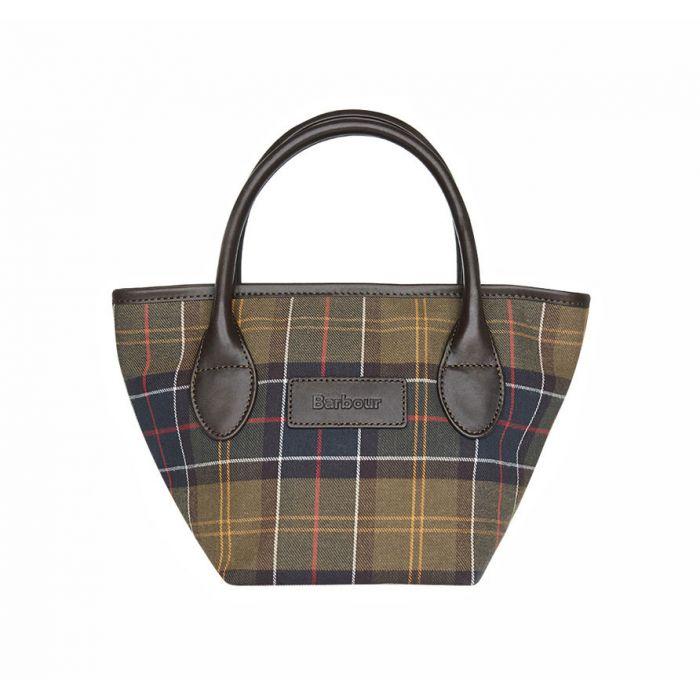 Barbour Tartan Tote Bag
