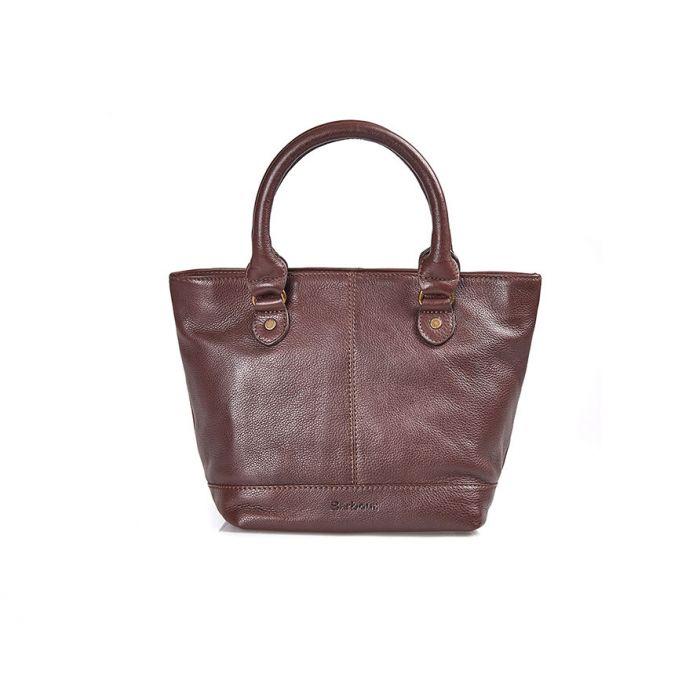 Barbour Preston Leather Tote Bag
