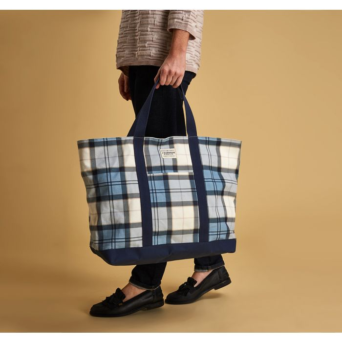 Barbour Kirkwall Tartan Tote Bag
