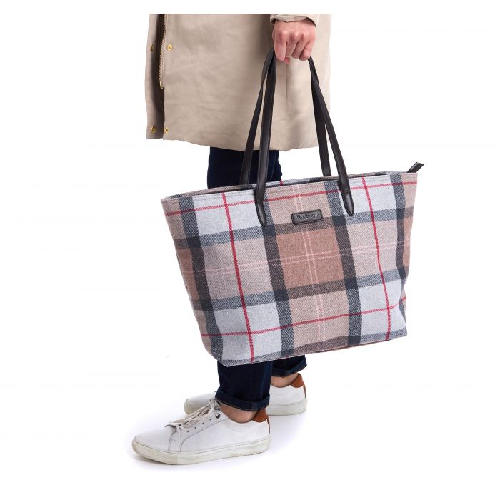 Barbour Witford Tartan Tote
