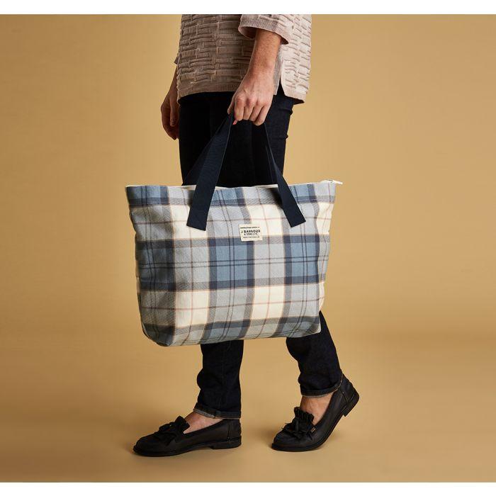 Barbour Tartan Printed Shopper Bag