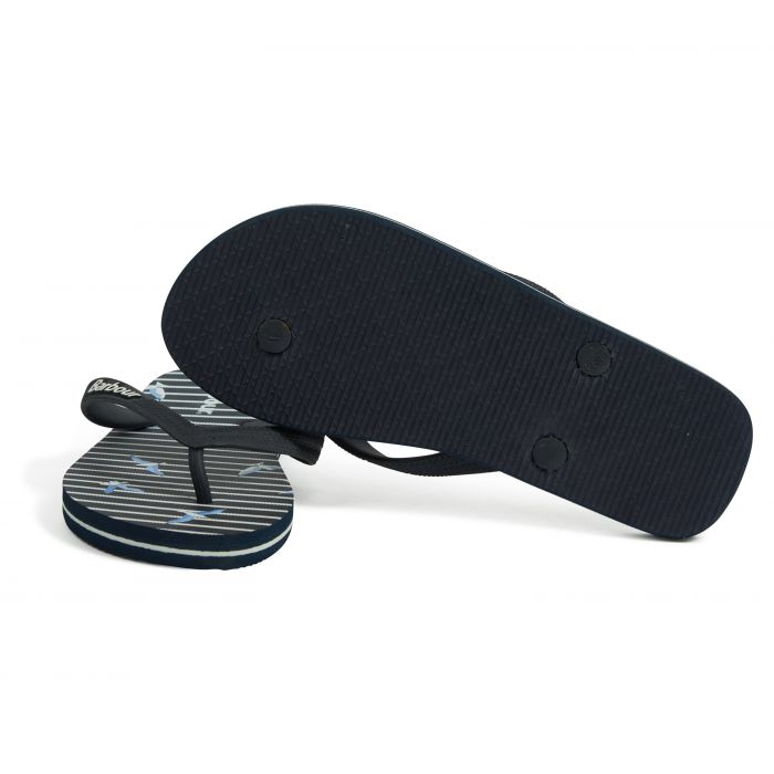 Barbour Seagull Print Beach Sandals