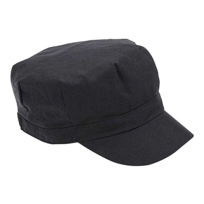 Barbour Wax Baker Boy Hat