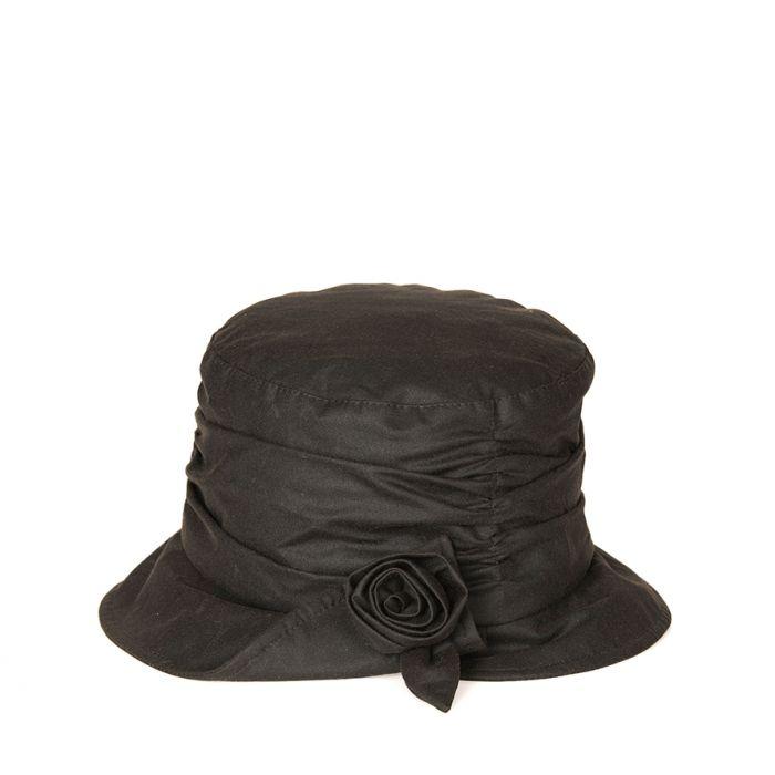 9635b1c8821 Barbour Kirstie Waxed Cotton Hat Barbour Kirstie Waxed Cotton Hat