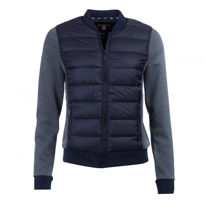 Barbour Port Baffle Quilted Sweatshirt
