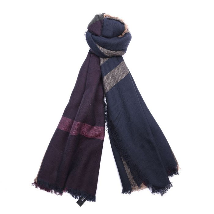 Barbour Tartan Square Scarf