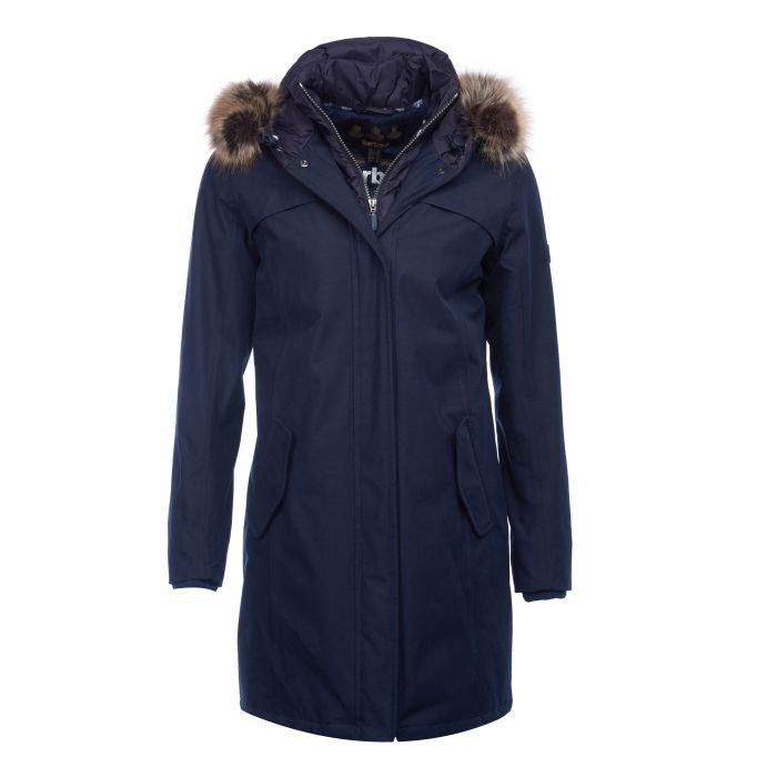Barbour Coldhurst Waterproof Breathable Parka Jacket