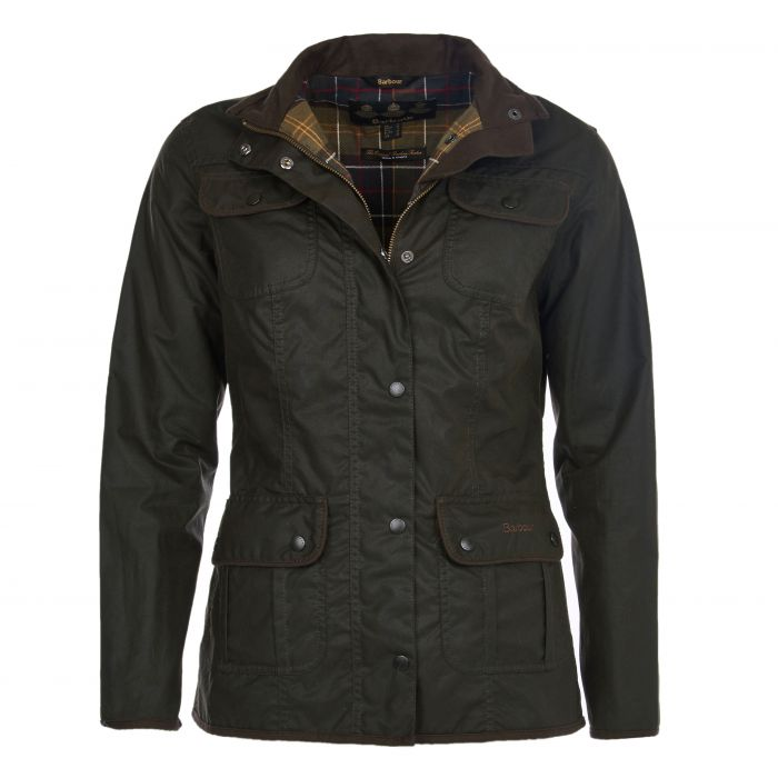 Barbour Ladies Utility Waxed Cotton Jacket