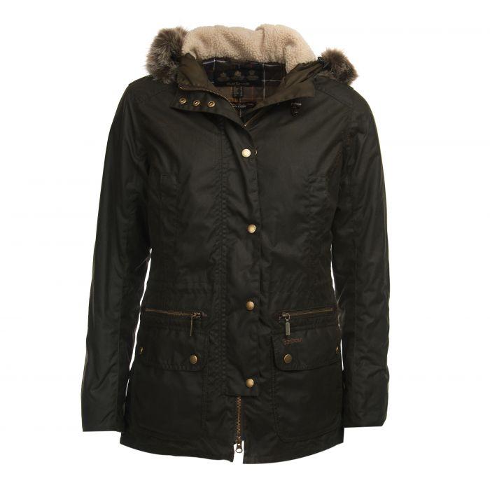 Barbour Kelsall Wax Parka Jacket