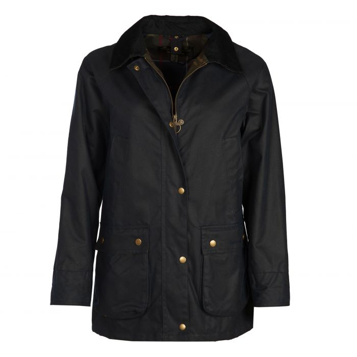 Barbour Cardinal Tartan Acorn Waxed Cotton Jacket