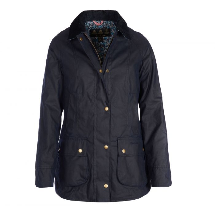 Barbour Abbey Waxed Cotton Jacket