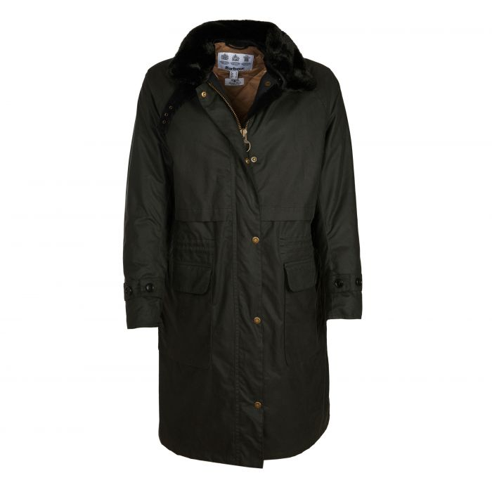 Barbour Floree Waxed Cotton Jacket