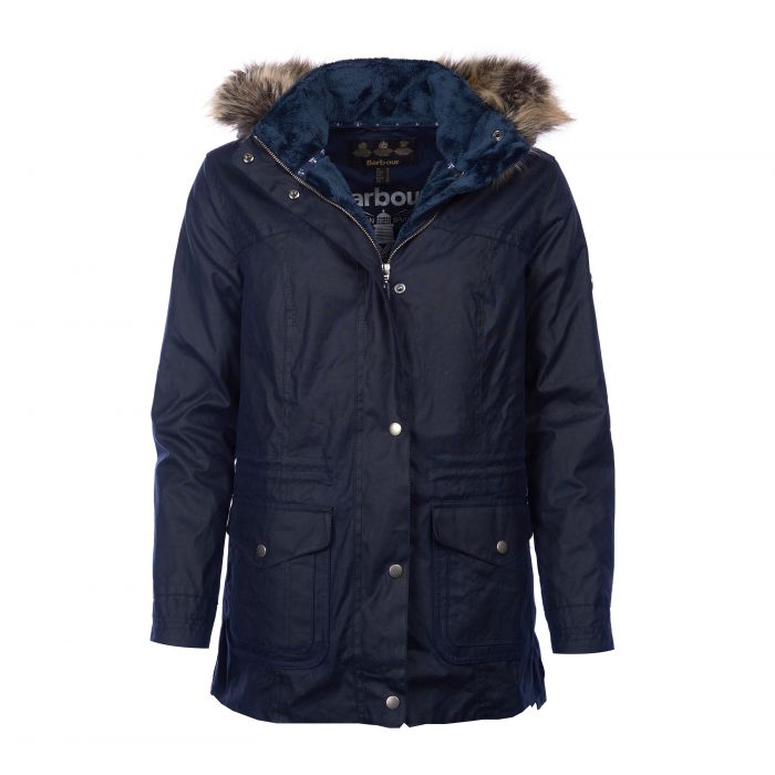 Barbour Southwold Waxed Cotton Parka Jacket
