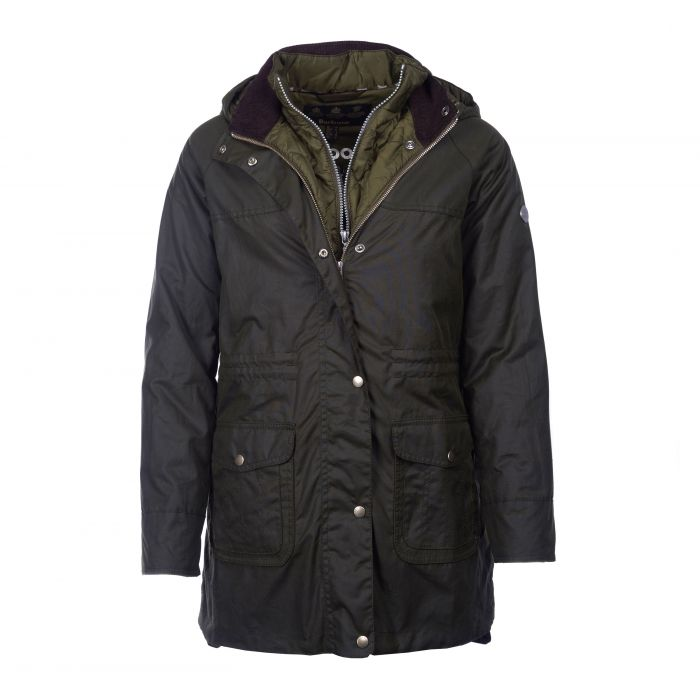 Barbour Mablethorpe Waxed Cotton Parka Jacket