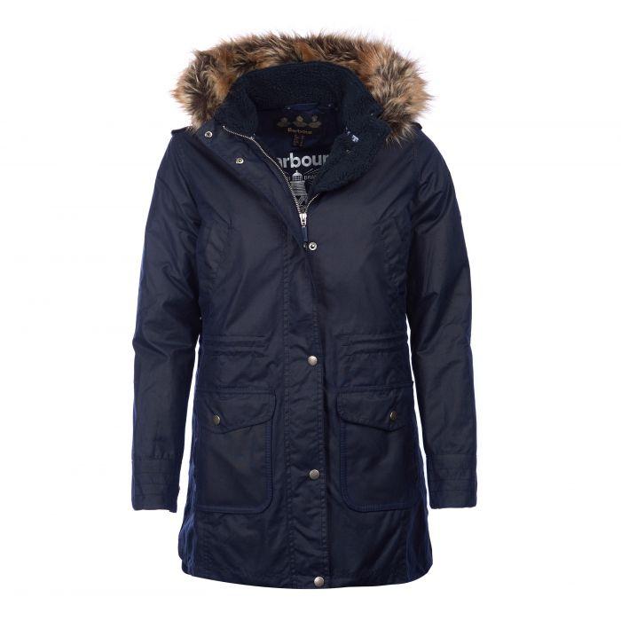 Barbour Bridport Waxed Cotton Parka Jacket