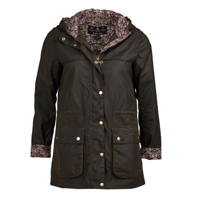 Barbour x Liberty Lillian Waxed Cotton Jacket