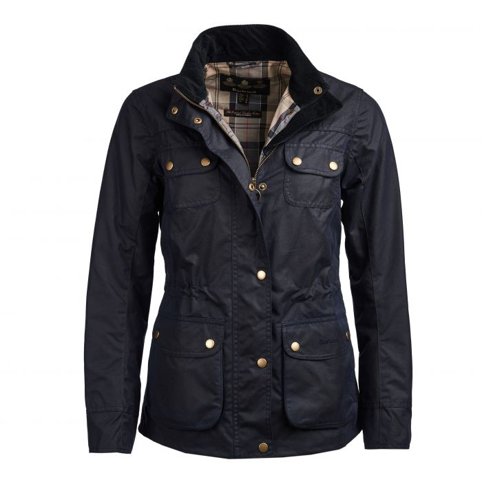 Barbour Wharf Waxed Cotton Jacket