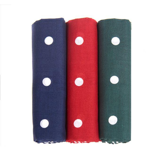 Barbour Spotted Handkerchiefs Gift Box Set