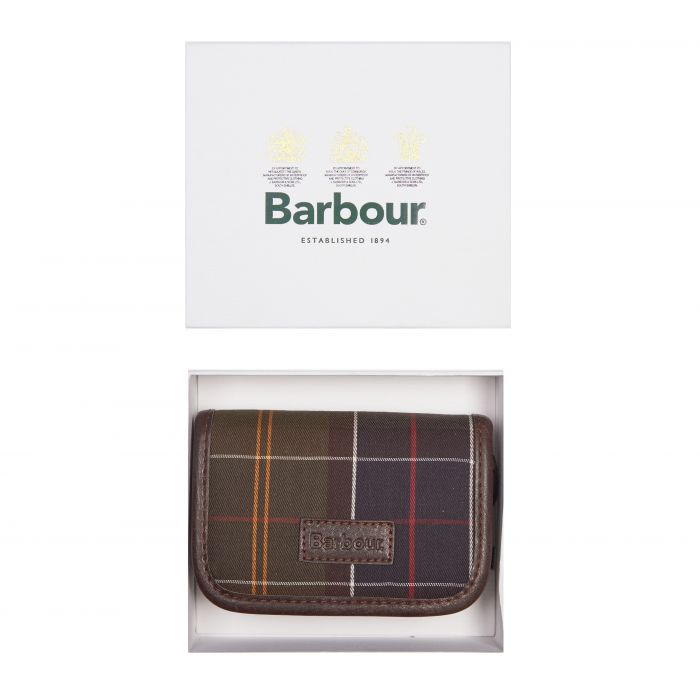 Barbour Tartan Manicure Kit Gift Box Set