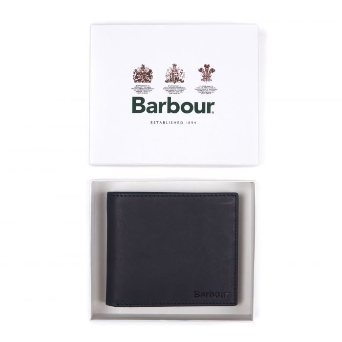 Barbour Leather Billfold Wallet