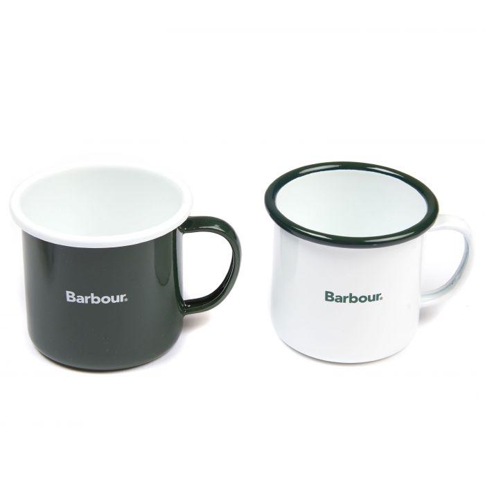 Barbour Enamel Mug Giftset