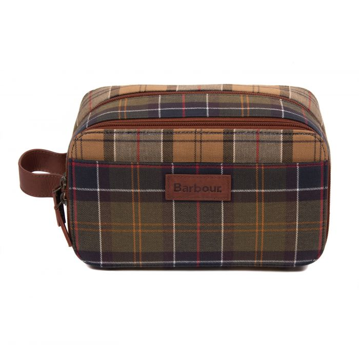 Barbour Mixed Tartan Washbag