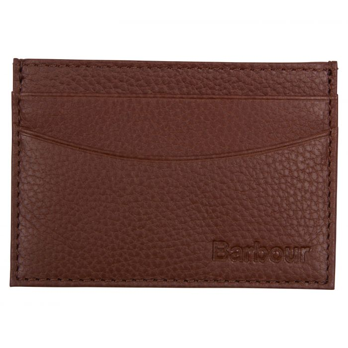 Barbour Two Tone Leather Card Holder