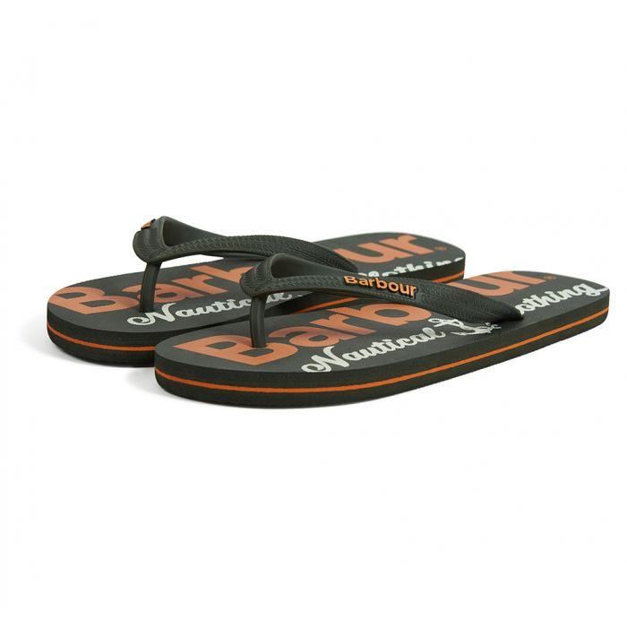 Barbour Nautical Beach Sandals