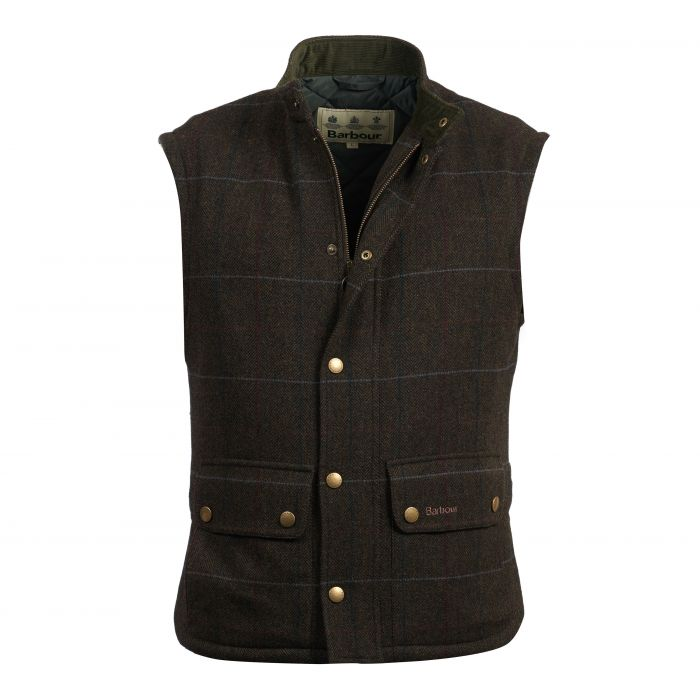 Barbour Wool Lowerdale Gilet