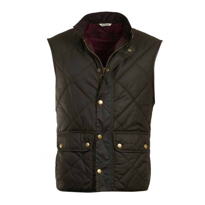Barbour Wax Lowerdale Gilet