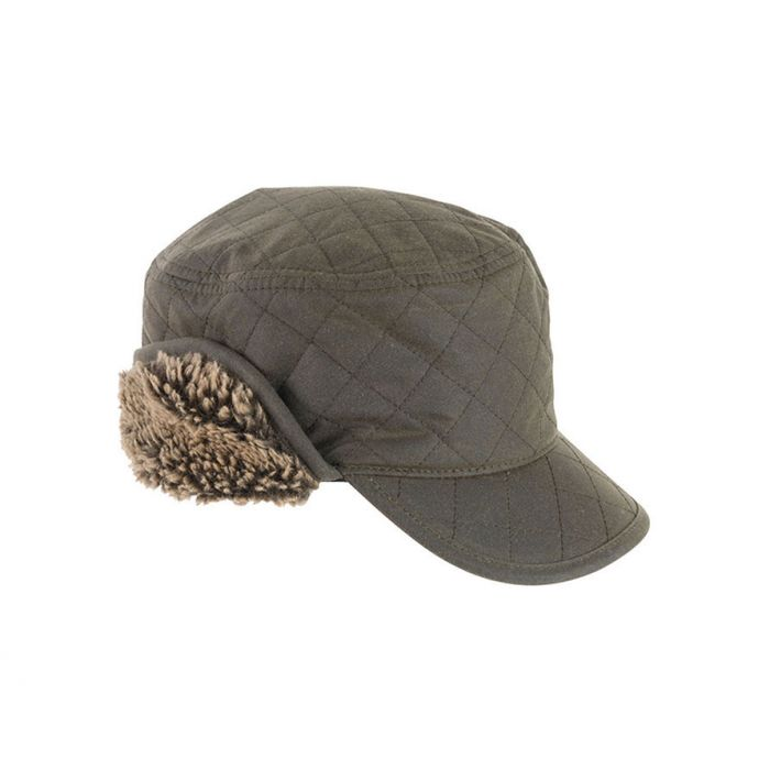 Barbour Stanhope Wax Trapper Hat
