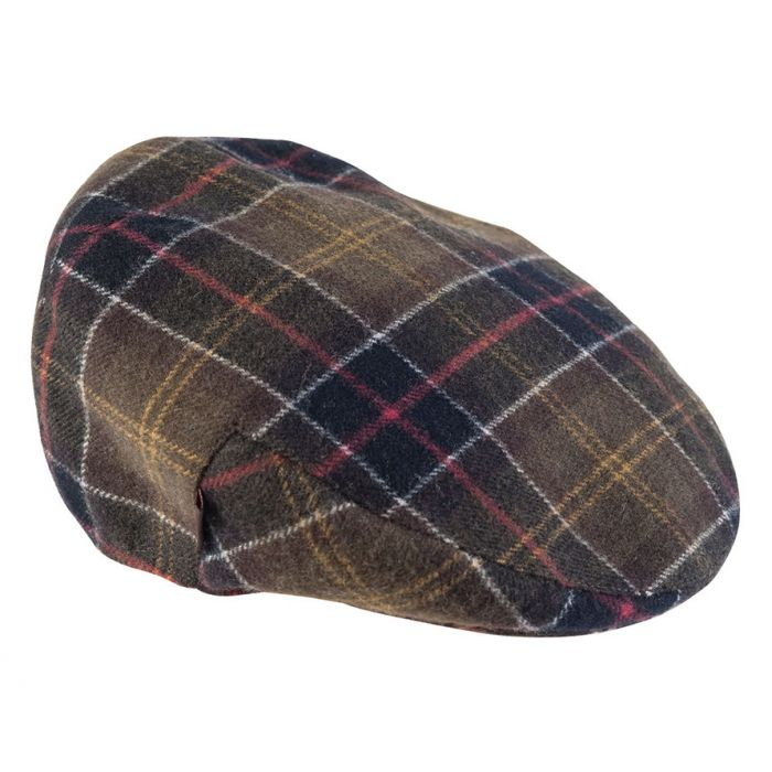 Barbour Classic Wool Tartan Cap