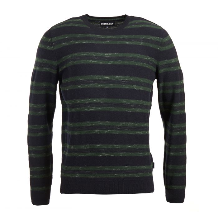 Barbour Weser Stripe Crew Neck Sweater